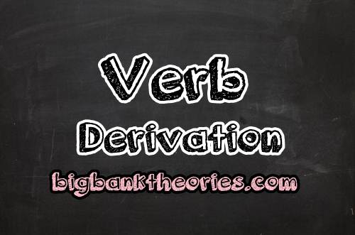 Contoh Verb Derivation