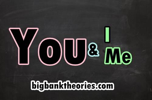 Penggunaan You And I