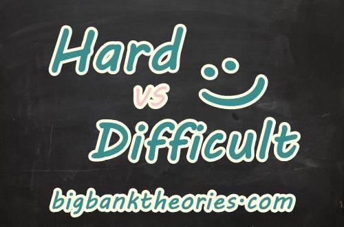 Contoh Kalimat Menggunakan Kata Difficult Dan Hard