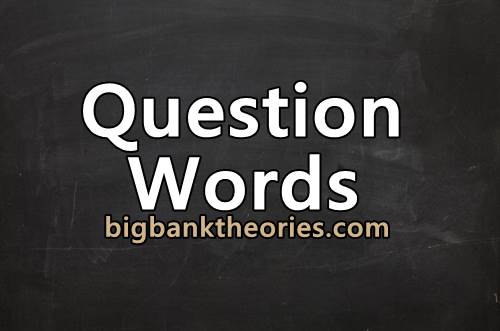 Rumus Question Word