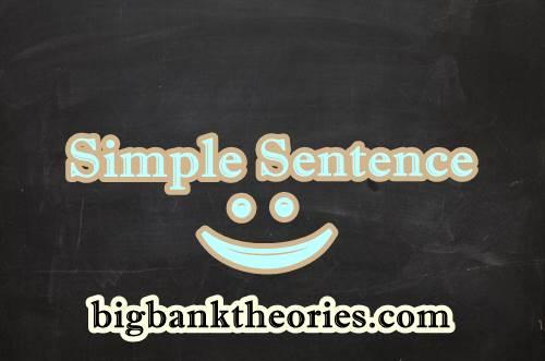 Contoh Kalimat Simple Sentence