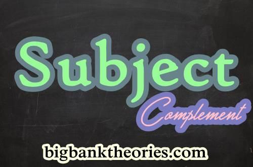 Contoh Subject Complement Dalam Kalimat