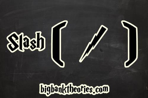 Tanda Slash Sebagai Salah Satu Punctuation Dalam Bahasa Inggris