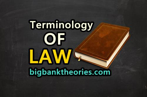 Istilah Hukum Dalam Bahasa Inggris Yang Banyak Dicari Orang