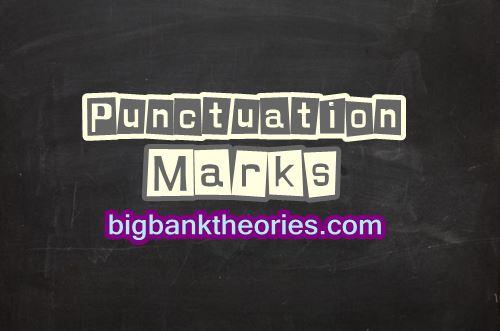 Macam Macam Punctuation Marks
