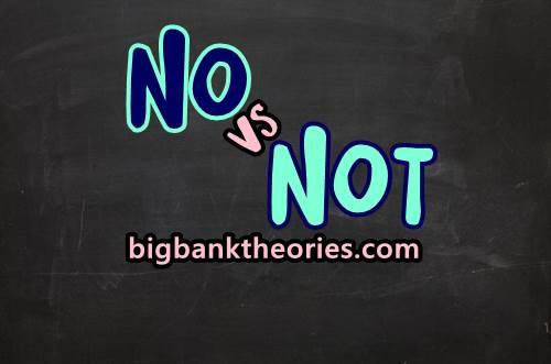Perbedaan No Dan Not Dalam Bahasa Inggris