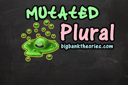 Contoh Mutated Plural Dalam Grammar