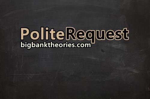 Contoh Dialog Polite Request
