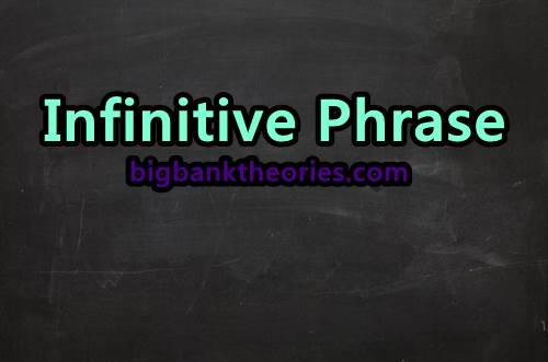 Contoh Penggunaan Infinitive Phrase Dalam Kalimat
