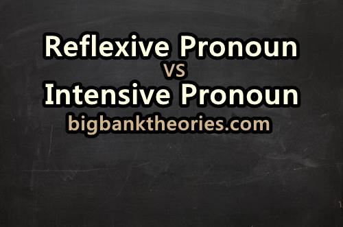 Contoh Kalimat Reflexive dan Intensive Pronoun