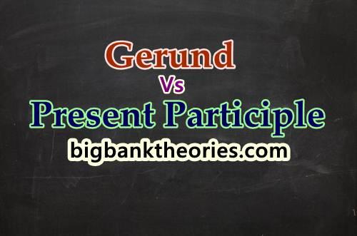 Contoh Penggunaan Gerund Dan Present Participle Dalam Kalimat
