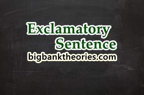Kumpulan Contoh Exclamatory Sentence