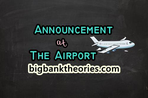 3 Contoh Announcement Singkat Di Bandara Dan Di Pesawat