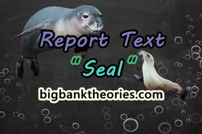 Report Text Bahasa Inggris Tentang Anjing Laut