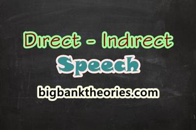 Pengertian Direct And Indirect Speech Dan Contoh Kalimatnya