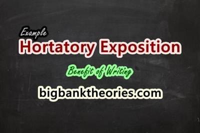 hortatory exposition contoh