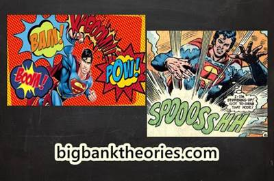 Example of Onomatopoeia in Comic Books
