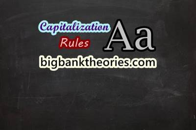 Capitalization Rules in English