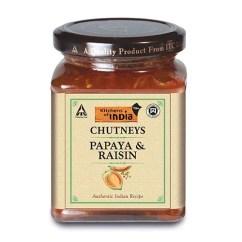 Kitchens Of India Kitchen Sink Farmhouse Style Buy Chutneys Papaya Raisin 300 Gm Bottle Online At