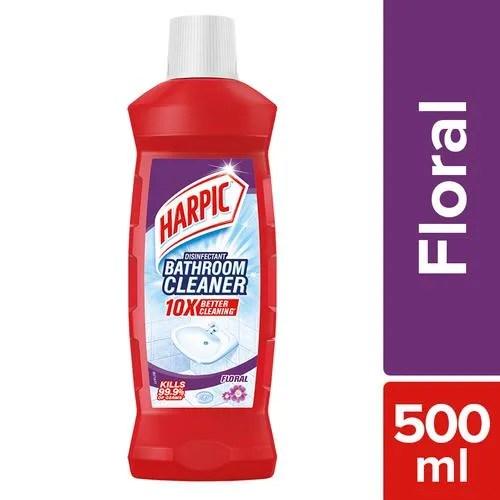 Buy Harpic Bathroom Cleaning Liquid Floral 500 Ml Online At Best Price Bigbasket