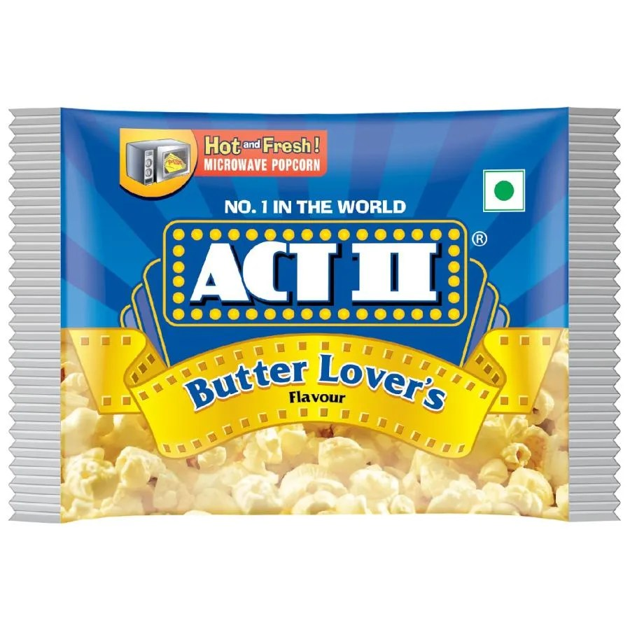act ii microwave popcorn butter lover s 33 g pouch