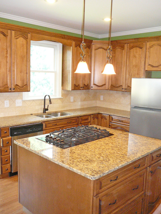 Big Bear Construction Kitchen Remodel with New  Refaced