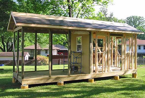 Fall Ceiling Wallpaper Big Bear Constructio Garden Shed Amp Screened Porch