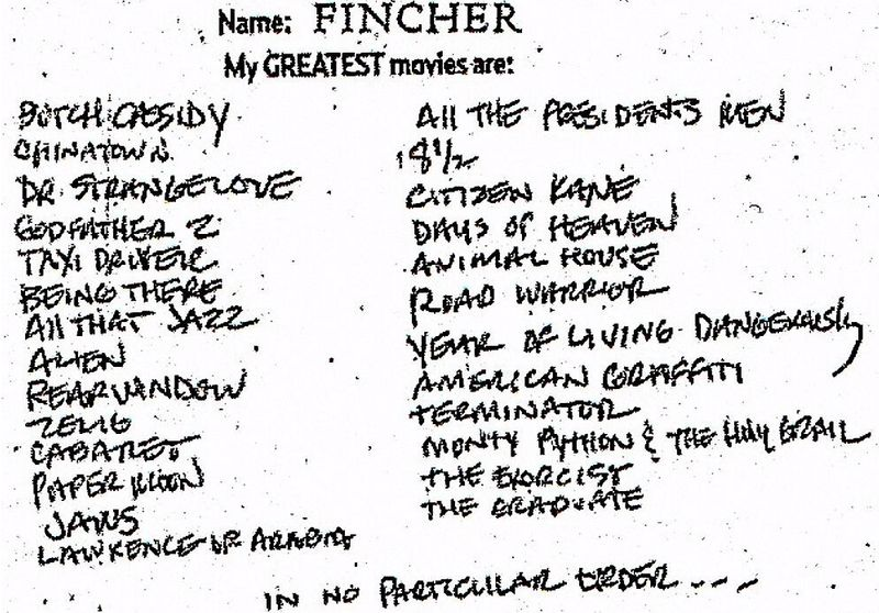 Film Lists