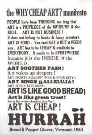 Why Cheap Art?