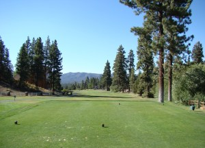 Golfing in Big Bear Lake
