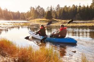 Romantic Kayaking