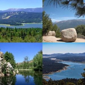 Hiking trails in Big Bear Lake