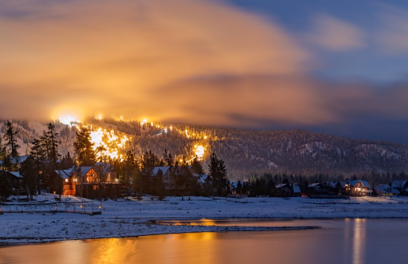 Big Bear Lake Winter