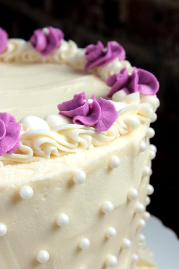 White Chocolate Birthday Cake Big Bears Wife
