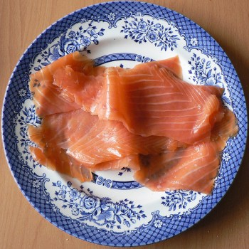 Gravlax (Photo by Claudecf)