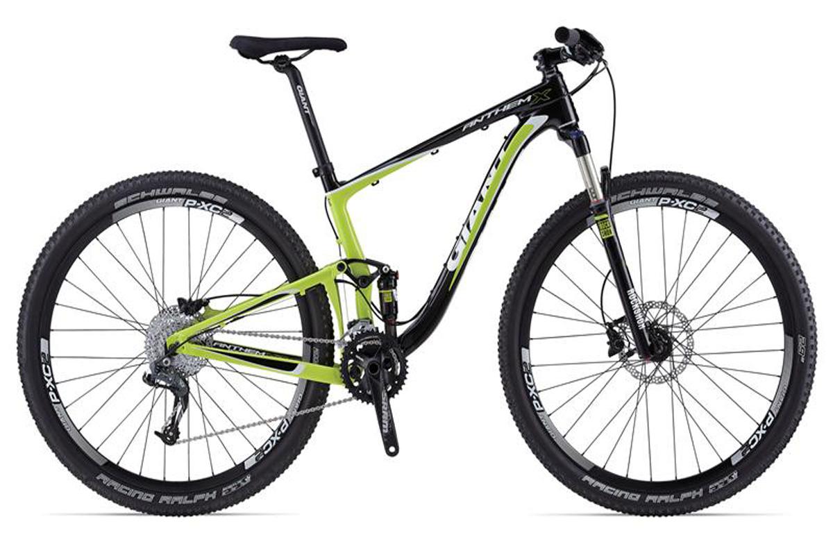 Test VTT Giant Anthem X Advanced 29er 2 2014 : vélo XC 100 mm
