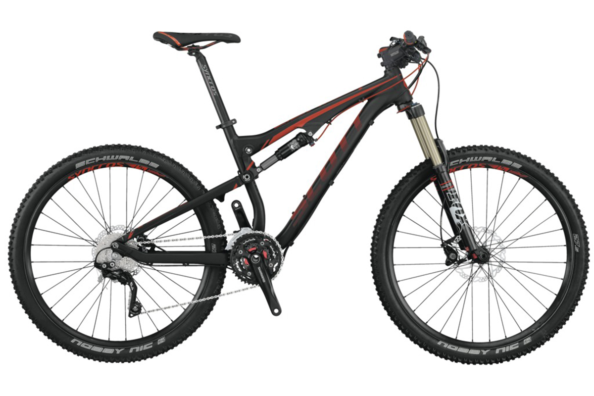 Test VTT Scott Genius 740 2014 : vélo All Mountain