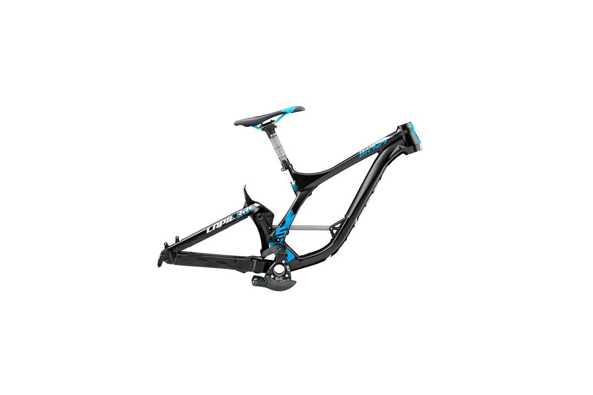 Test VTT Lapierre Kit cadre DH Team 2015 : vélo Racing DH