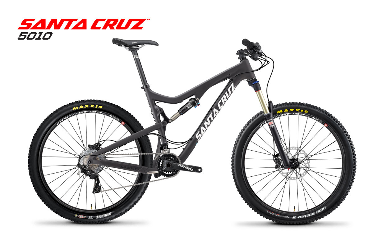 Test VTT Santa Cruz 5010 C R AM 2015 : vélo Trail Bike