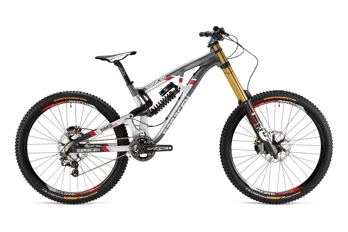 Test VTT Saracen Myst Team 2015 : vélo Racing DH