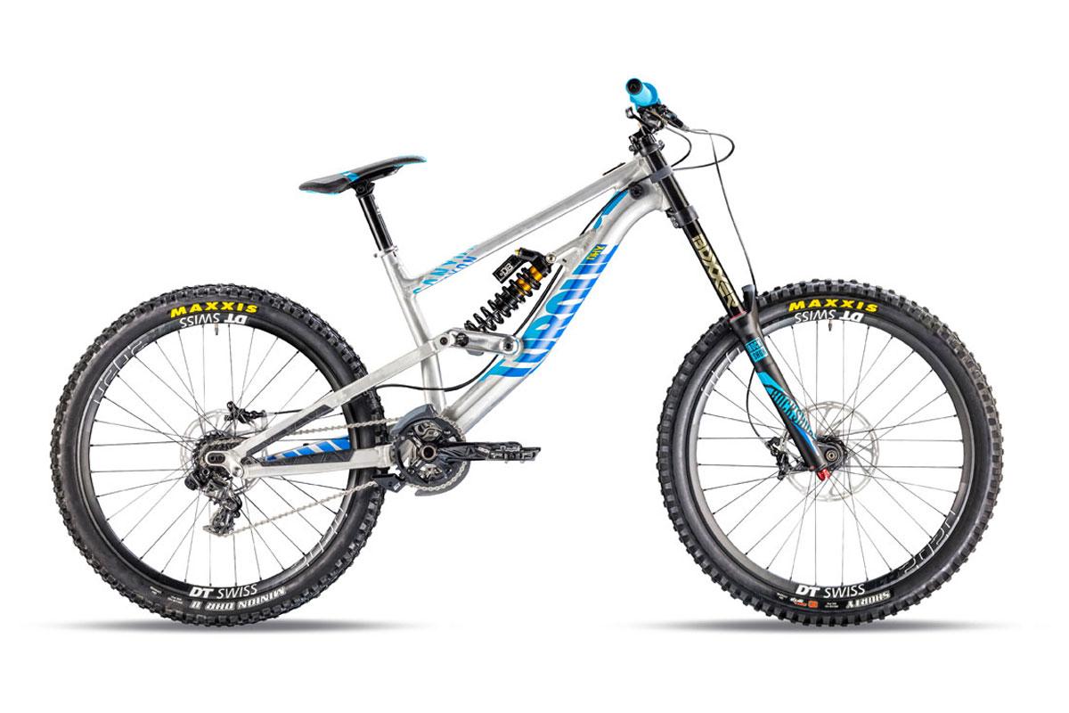 Test VTT Canyon Torque DHX Rockzone 2016 : vélo Racing DH