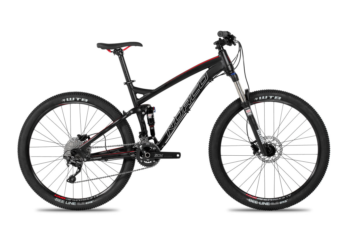 Test VTT Norco Fluid 7.2 2016 : vélo Enduro