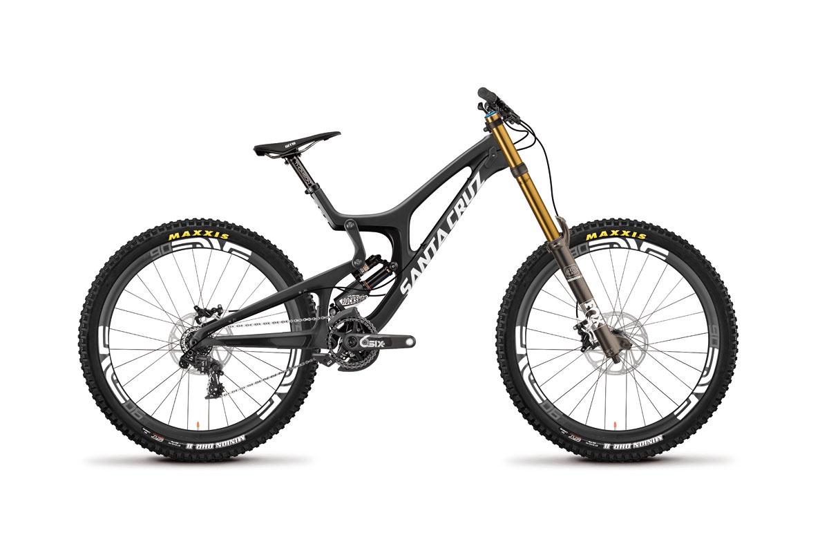 Test VTT Santa Cruz V10C 2016 : vélo Racing DH