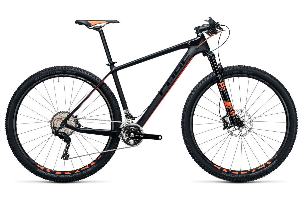 Test VTT Cube Elite C:62 Pro 29 2X Carbon'n'flashorange