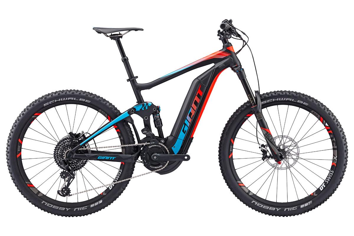 Test VTT Giant Full-E+ 0 Sx 2017 : vélo Enduro