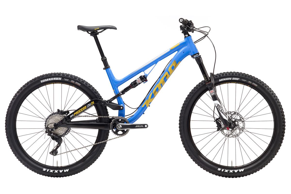 Test VTT Kona Process 134 DL 2017 : vélo Trail Bike