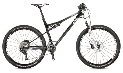 Test VTT KTM Lycan 27 Elite 22 2017 : vélo All Mountain