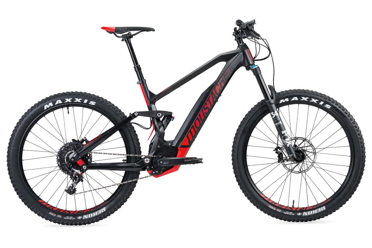 Test VTT Moustache Samedi 27 Trail 9 Carbon 2017 : vélo