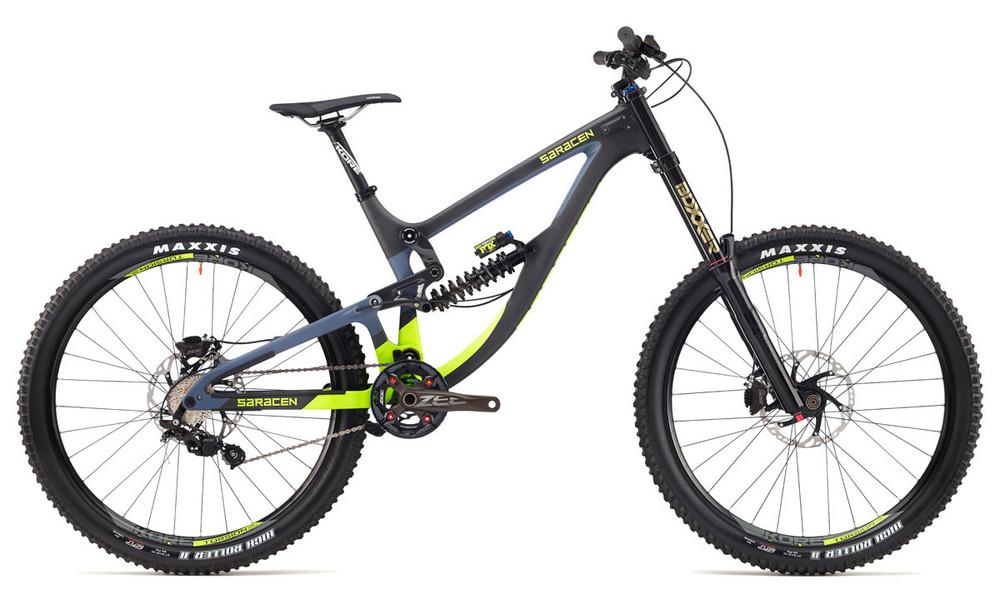 Test VTT Saracen Myst Pro 2017 : vélo Racing DH