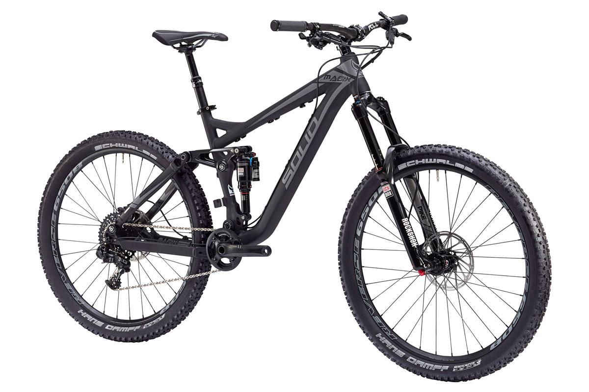 Test VTT Solid Magix X11 Black 2017 : vélo Enduro